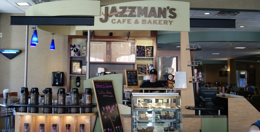 Jazzman's cafe is perfect for Breakfast