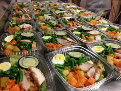 variety of food at Kosher Dining