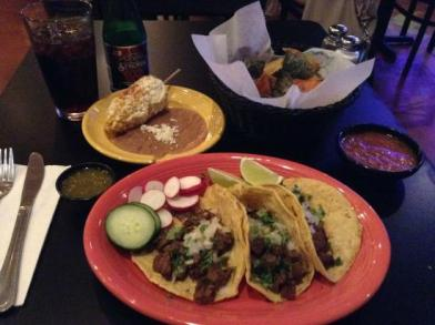 An example of food at Maiz Mexican Cantina