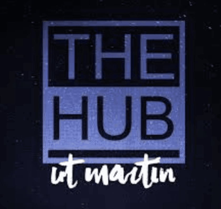 Hub at martin logo