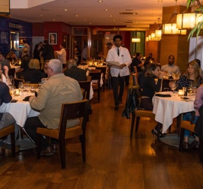 The Dining area at the Ursino Steakhouse and Tavern