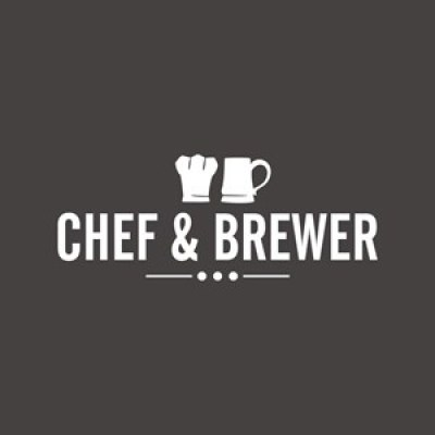 the logo for chef and brewer
