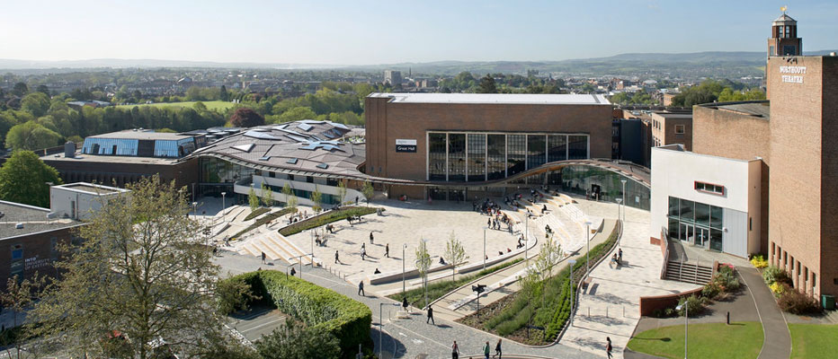 Jobs for College Students at University of Exeter