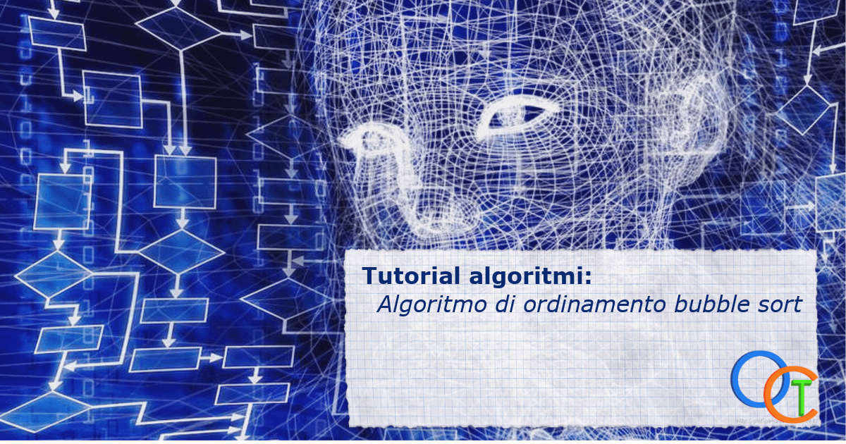 Algoritmo di ordinamento bubble sort C++