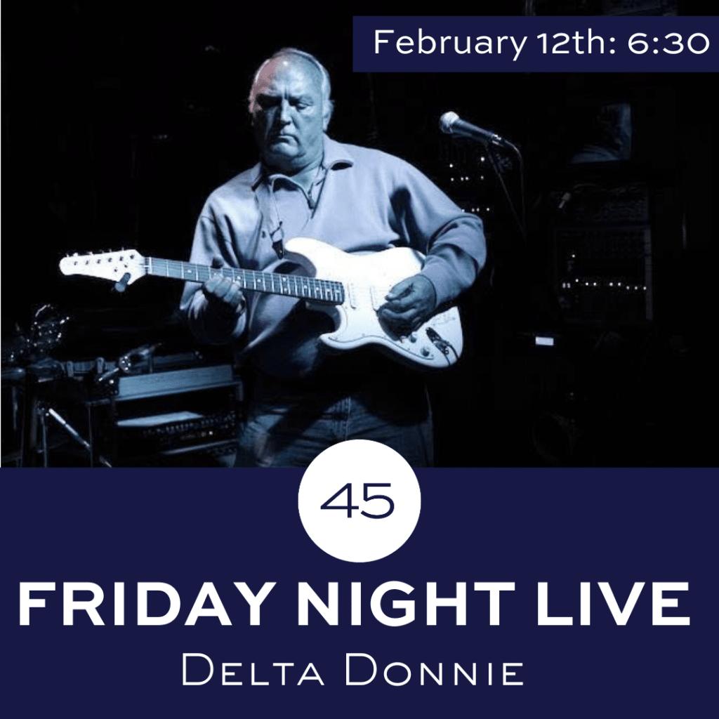 Friday Night Live Music at Bar 45