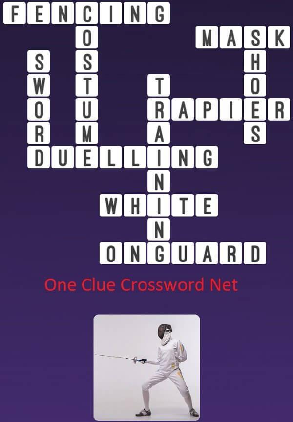 Guard 7 Letters Crossword Clue