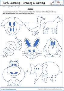 Early Learning Printables - Animals