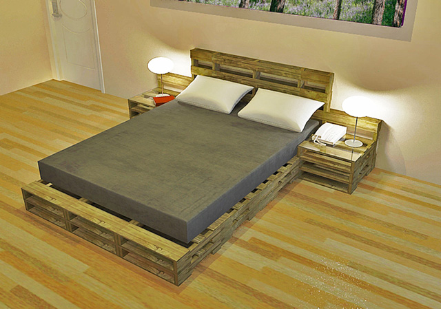 DIY Pallet Furniture Open Source Hub | Sustainable ... on Pallet Bed Room  id=92568