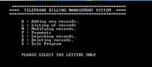 Test Cases for Telecom Billing System