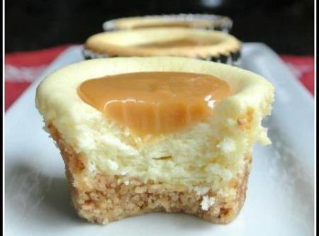 Caramel Cheese Bites