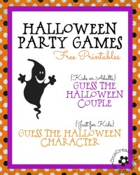 halloween printable games and activities