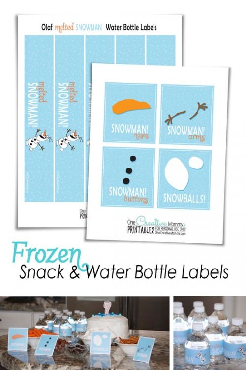 Frozen Printables