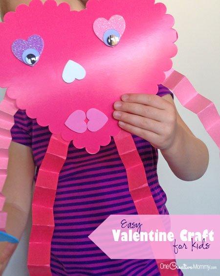 easy valentines day craft for kids makobi scribe - 450×563