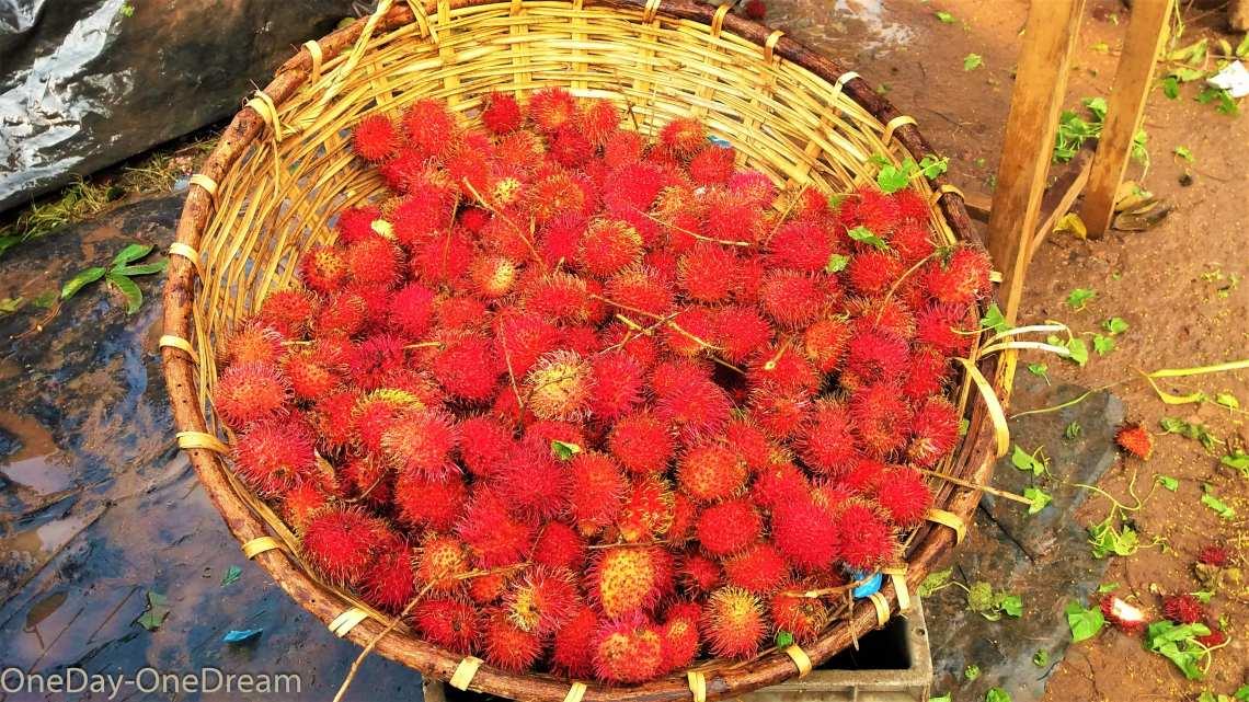 fruits exotiques ramboutan
