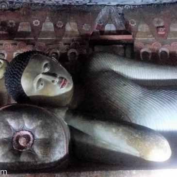 Les grottes de Dambulla fermées au public
