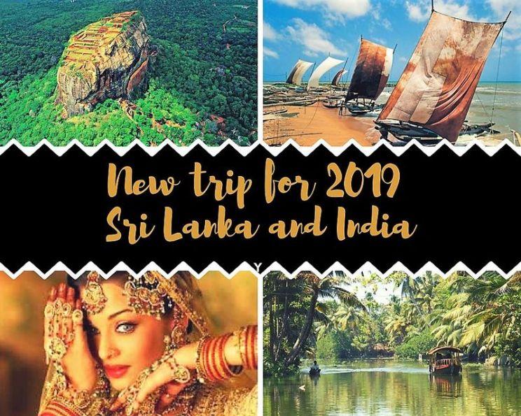 New trip Sri Lanka & India