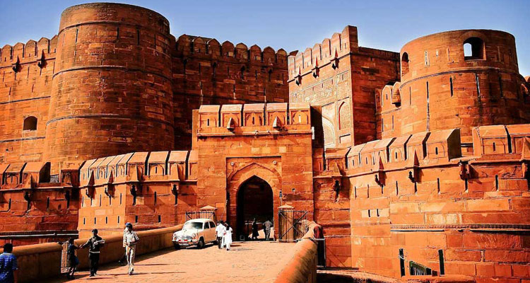 One Day Agra Local Sightseeing Trip by Car Red Fort / Lal Qila