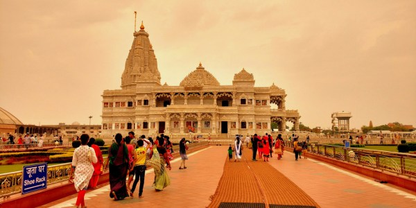 One Day Agra, Mathura and Vrindavan Local Sightseeing Trip by Car Header