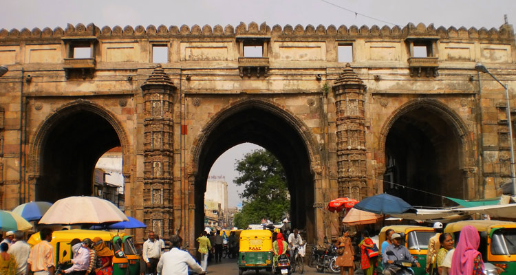 One Day Ahmedabad Local Sightseeing Trip by Car Teen Darwaza