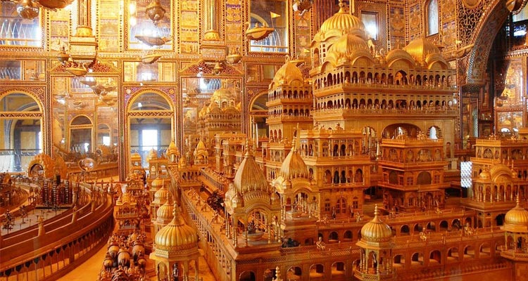 One Day Ajmer & Pushkar Local Sightseeing Trip by Car Nasiyan Temple and Ana Sagar Lake