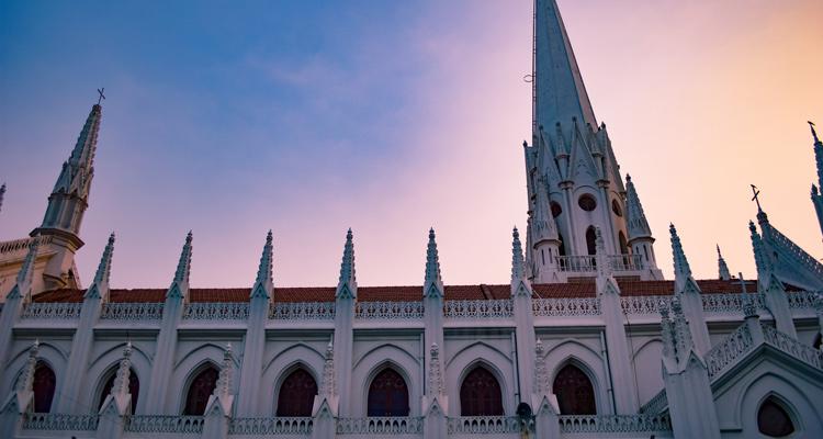 One Day Chennai Local Sightseeing Trip by Car Saint Thomas Church