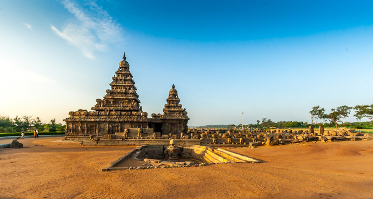 One Day Chennai to Mahabalipuram Trip by Car Mahabalipuram Seashore Temple