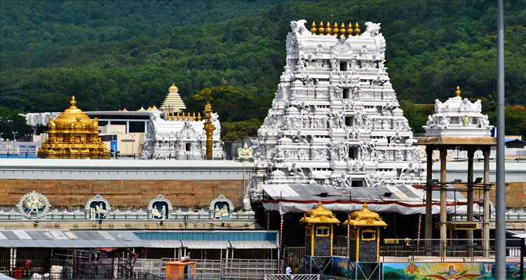 One Day Chennai to Tirupati Balaji Trip by CarTirumala Venkateswara Temple