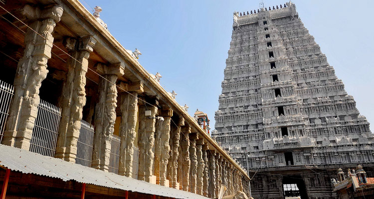 One Day Chennai to Tiruvannamalai Trip by Car Annamalaiyar Temple