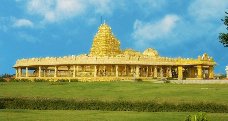 One Day Chennai to Vellore Trip by Car Sripuram Golden Temple