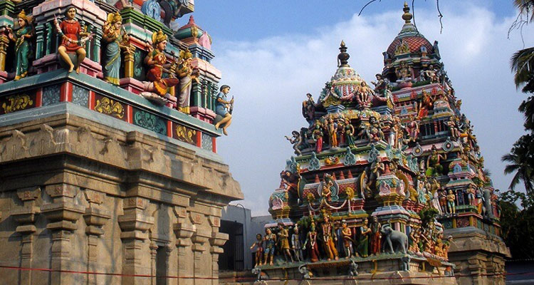 One Day Coimbatore Temple Trip by Car Kottai Easwaran Temple