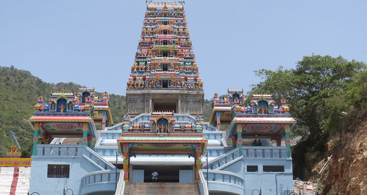 One Day Coimbatore Temple Trip by Car Marudamalai Temple
