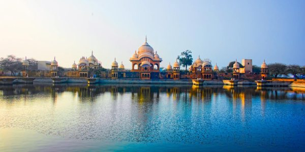 One Day Delhi to Mathura and Vrindavan Trip by Car Header