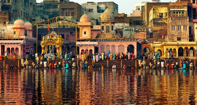 One Day Delhi to Mathura and Vrindavan Trip by Car Vishram Ghat