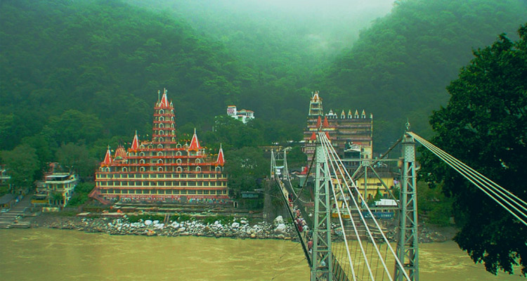 One Day Haridwar and Rishikesh Local Sightseeing Trip by Car Laxman Jhula