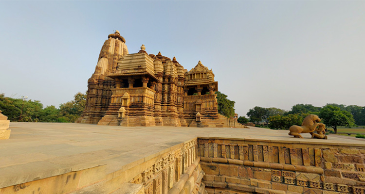 One Day Khajuraho Local Sightseeing Trip by Car Devi Jagadamba Temple