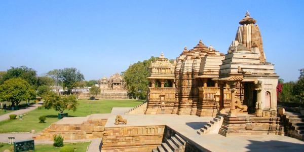 One Day Khajuraho Local Sightseeing Trip by Car Header