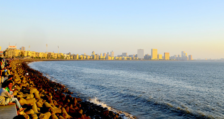 One Day Mumbai Local Sightseeing Trip by Car Marine Drive