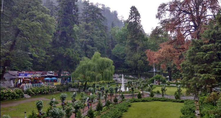 One Day Mussoorie Local Sightseeing Trip by Car Company Garden