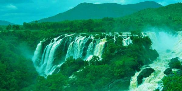 One Day Mysore to Shivanasamudra Falls Trip by Car Header