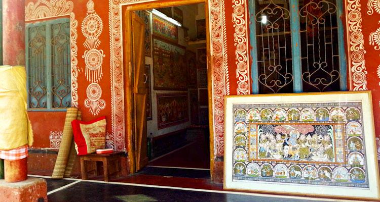 One Day Puri Local Sightseeing Trip by Car Raghurajpur Artist Village