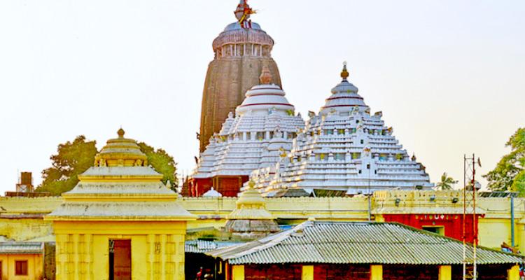 One Day Puri Local Sightseeing Trip by Car Shri Jagannath Puri Temple