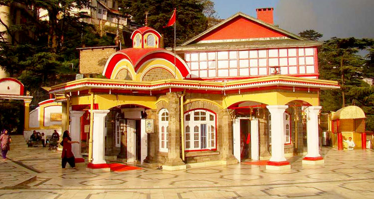 One Day Shimla Local Sightseeing Trip by Car Kali Bari Temple
