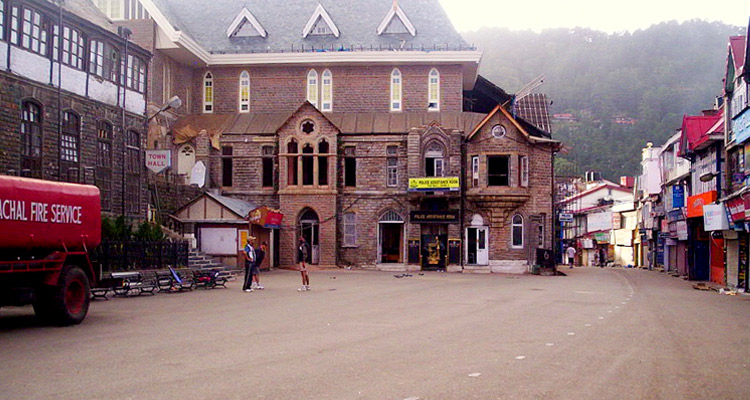 One Day Shimla Local Sightseeing Trip by Car Mall Road