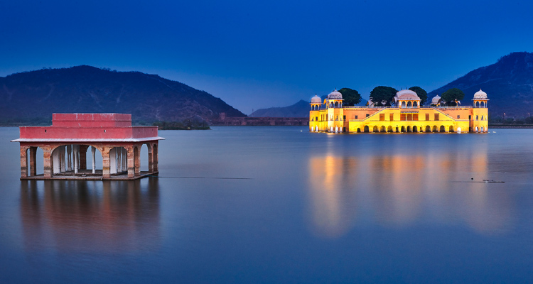 1 Day Delhi to Jaipur Tour by Cab Jal Mahal Jaipur