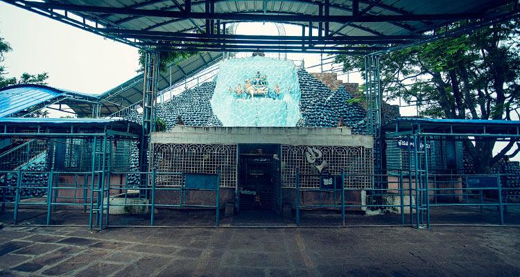 1 Day Hyderabad to Srisailam Mallikarjuna Tour by Cab Shikaresvara Temple