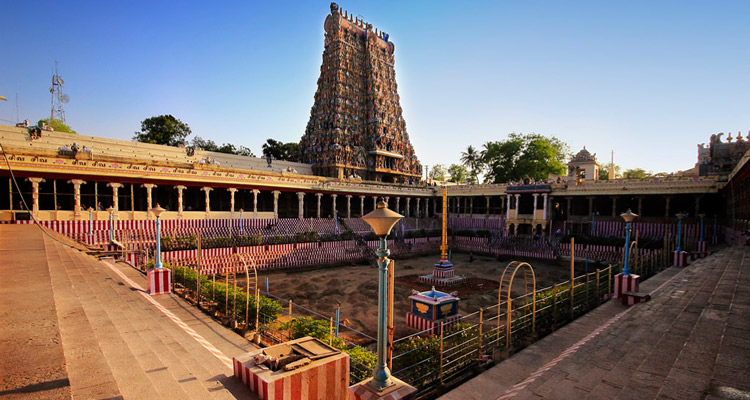 1 Day Madurai Local Sightseeing Tour by Cab Meenakshi Amman Temple