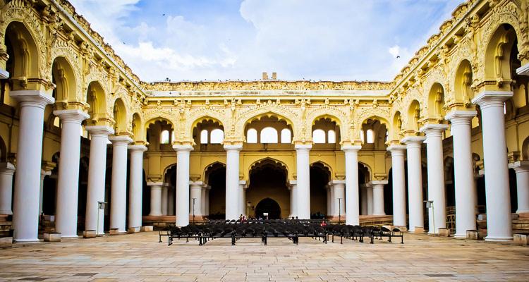 1 Day Madurai Local Sightseeing Tour by Cab Thirumalai Nayak Palace