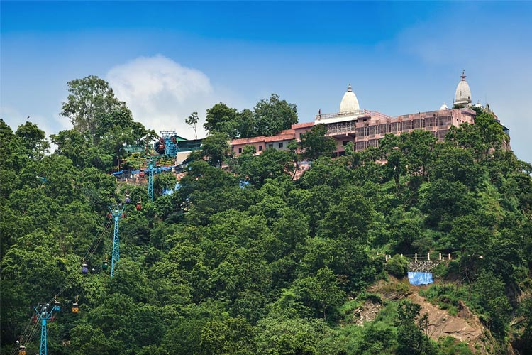 Visit Mansa Devi Temple with One Day Delhi to Haridwar and Rishikesh Trip by Car Rental