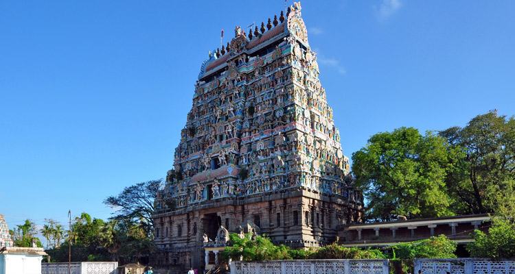 1 Day Chennai to Kanchipuram Tour by Cab Kumarakottam Temple