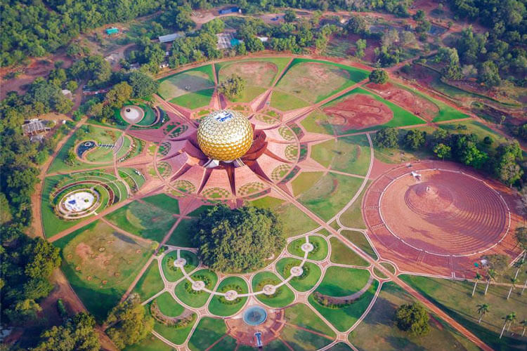 Auroville with 1 Day Chennai to Mahabalipuram & Pondicherry Trip by Cab